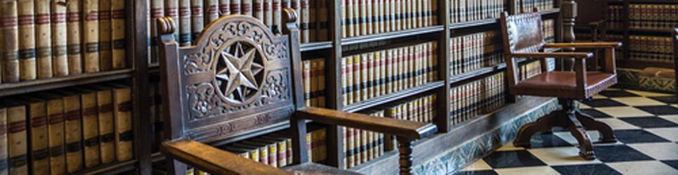 The public law library at Santa Barbara City Hall in California